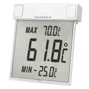 Big-Digit See-Thru   Traceable Thermometer