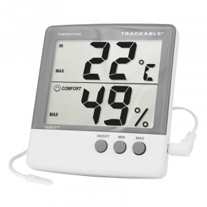 Jumbo Temperature Traceable Humidity Meter
