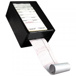 Disposable Traceable Temperature Strip-Chart  40 Day Recorder