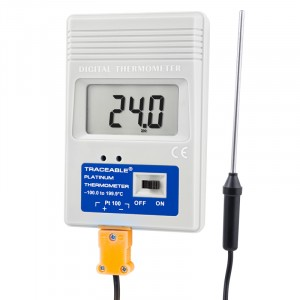 -100 Platinum Freezer Traceable Thermometer