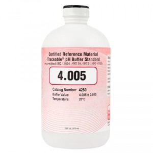 4280 Traceable® 4.005 pH Buffer Standards (CRM)