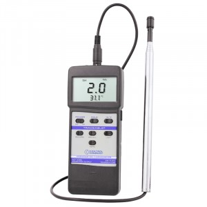 Hot Wire Traceable Anemometer/Thermometer