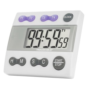 Four Channel Traceable Alarm Timer
