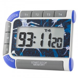 Multi-Colored   Traceable Timer