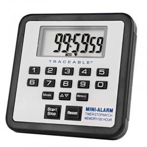 Mini-Alarm Traceable Timer/Stopwatch