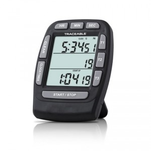 Triple-Display Traceable Timer