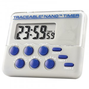 Nano   Traceable Timer