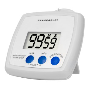 Water-Resistant/Steam-proof Traceable Timer