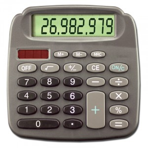 6031 8 - Digit Solar Desktop Calculator
