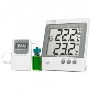 6424 Wireless Radio-Signal Refrigerator Traceable Thermometer