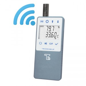 Traceable® Temperature/Humidity WIFI Data Logger Compatible with TraceableLIVE® Cloud Service