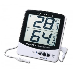 Big-Digit Memory Traceable Thermometer
