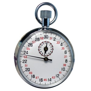 8529 SINGLE-ACTION 13 JEWEL STOPWATCH