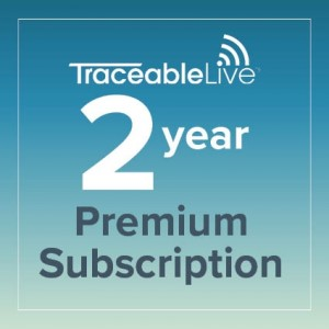TraceableLIVE Premium 2 Year Subscription
