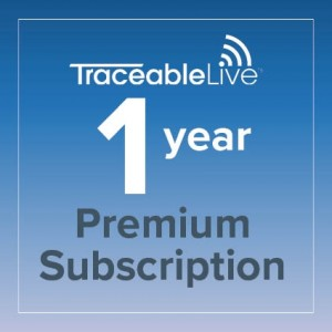 TraceableLIVE Premium 1 Year Subscription