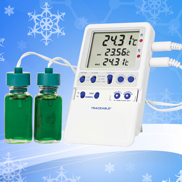 Traceable® Refrigerator Thermometers. Datalogging. Memory. Freezers.