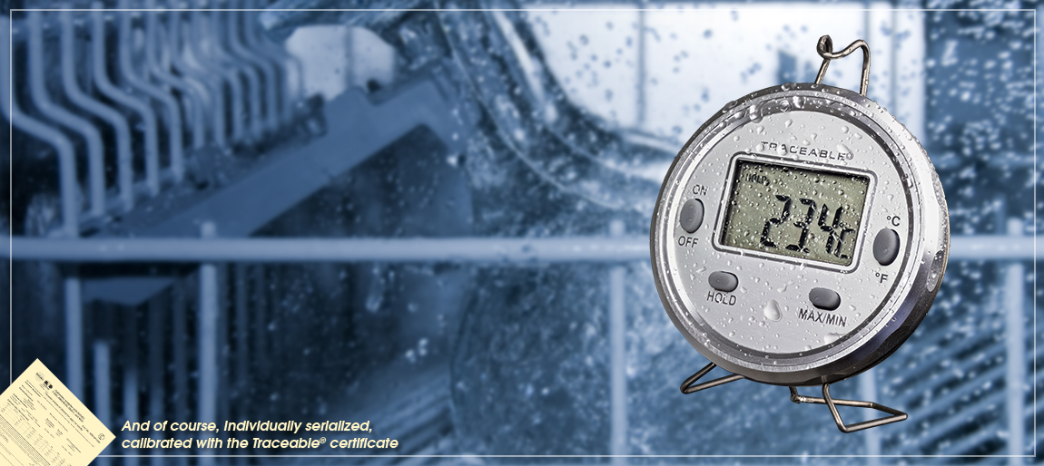4203 Traceable® Dishwasher Metal Thermometer