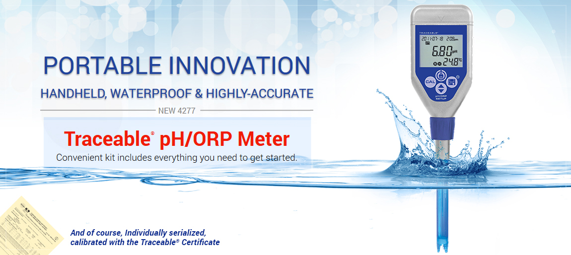 4277 Traceable® pH/ORP meter