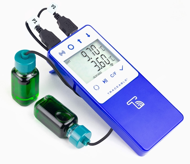 TraceableLIVE Refrigerator/Freezer Thermometer