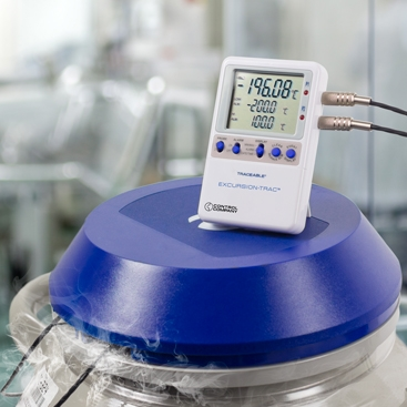 Datalogging Thermometers for Freezer, industrial, vaccines, refrigerators and more