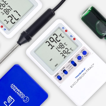 Evolution from simple measurement to basic monitoring and now Traceable® Digital Datalogging is your back up during an audit or when you can't be there. Choose from our families of WiFi Connected TraceableLIVE®, USB download Excursion-Trac™ and  Memory-Loc™  thermometers.