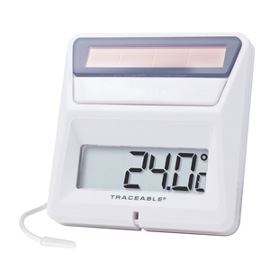 4123 Traceable® Solar-Powered Thermometer
