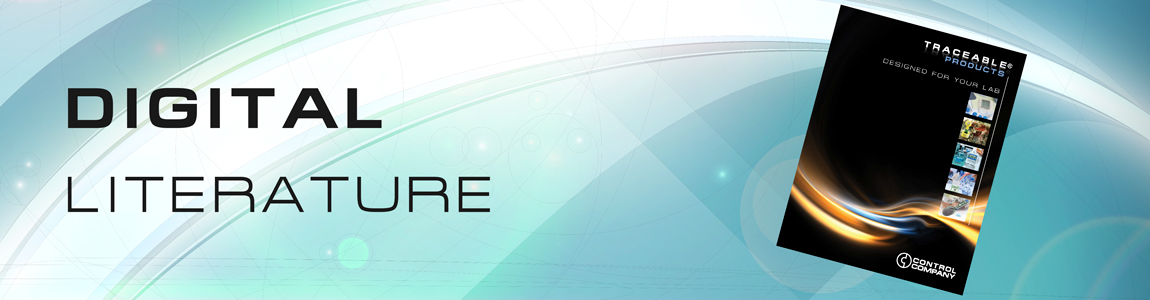 Traceable® Literature banner