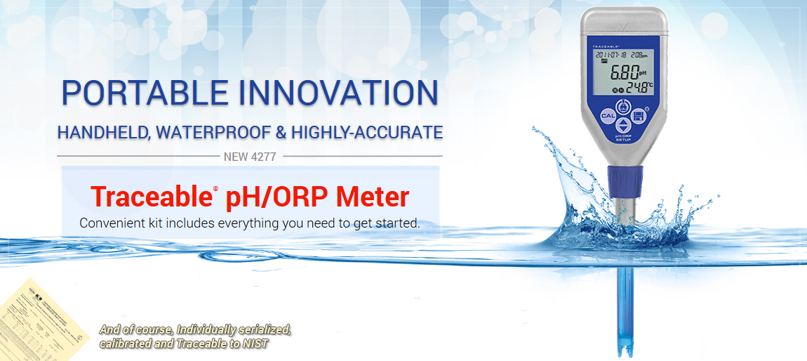 4277 Traceable® pH\ORP Meter