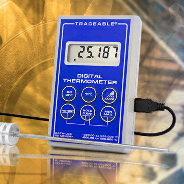 Traceable® Platinum Thermometers. Datalogging. Memory. Freezers.