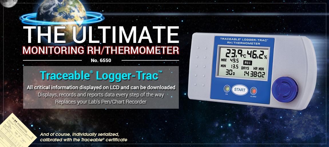 6550 Traceable® Logger-Trac™ RH/Temperature