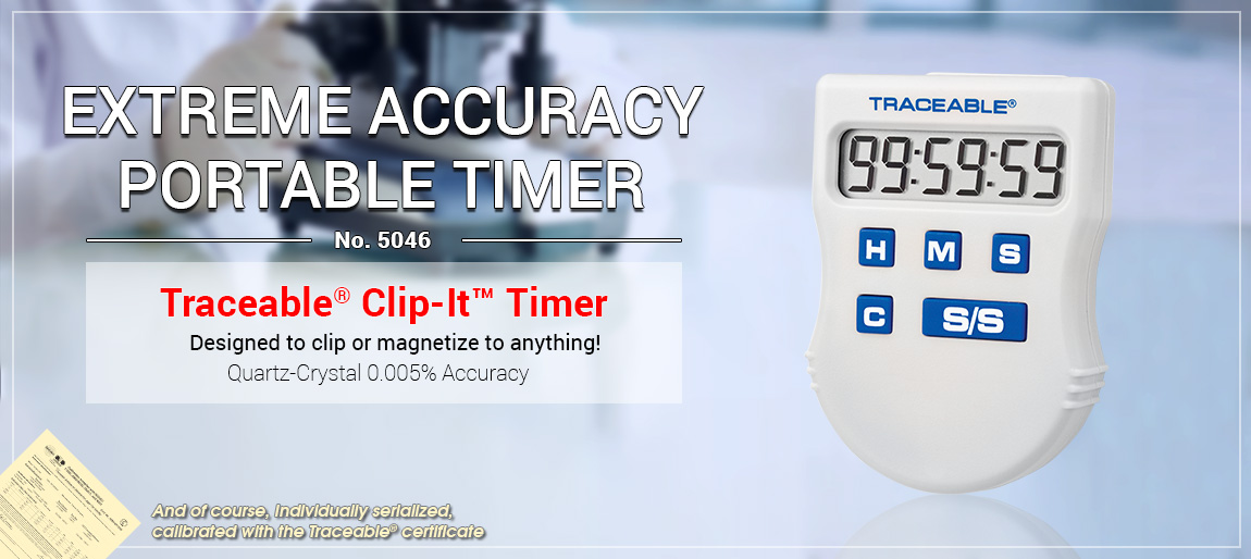 5046 Traceable® Clip-It™ Timer