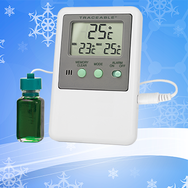 Traceable® Refrigerator/Freezer Thermometers. Datalogging. Memory. Freezers.
