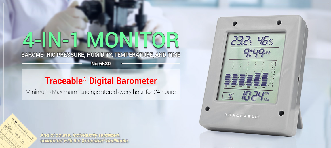 6530 Traceable® Digital Barometer